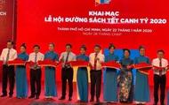 TP Hồ Chí Minh: Khai mạc lễ hội đường sách Tết Canh Tý 2020