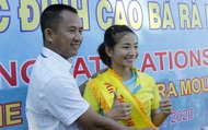 """Nhà vô địch SEA Games 30 lên ngôi """"nữ hoàng leo núi Bà Rá"""" 2020"""
