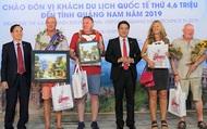 Năm 2020, tỉnh Quảng Nam dự kiến sẽ đón hơn 8 triệu lượt khách