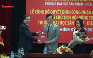 Công bố Quyết định công nhận Hội đồng Trường Đại học Sân khấu Điện ảnh Hà Nội và Học viện Múa Việt Nam