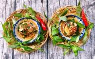 Trứng vịt lộn nướng mỡ hành - món ăn vặt mới toanh siêu hấp dẫn