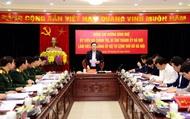 Bí thư Thành ủy Hà Nội Vương Đình Huệ giữ chức Bí thư Đảng ủy Bộ Tư lệnh Thủ đô Hà Nội