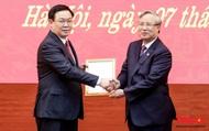 Clip: Phó Thủ tướng Vương Đình Huệ được phân công làm Bí thư Thành ủy Hà Nội
