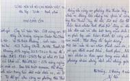 Dân viết thư cảm ơn các chiến sĩ Công an phường Hòa Thuận Tây