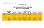 Mới nhất: Lịch phát sóng Chương trình dạy học trên truyền hình Hà Nội cho học sinh các cấp học từ ngày 06-11/4