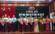 Công bố quyết định của Ban Thường vụ Tỉnh ủy Quảng Bình về công tác cán bộ