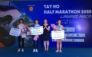 """Nhà vô địch SEA Games Nguyễn Thị Oanh """"vô đối"""" ở Giải Tay Ho Half Marathon 2020"""