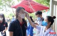 Kiểm tra y tế nghiêm ngặt cho thí sinh vào làm thủ tục thi THPT 2020