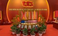Không gian văn hóa bên hành lang Đại hội XIII của Đảng