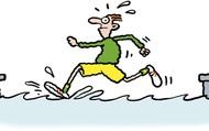 Con người phải di chuyển nhanh tới mức nào để có thể chạy trên mặt nước?