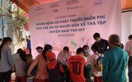 Hơn 1.700 người dân miền núi được khám và cấp phát thuốc miễn phí