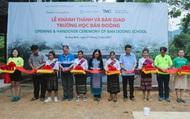 Quảng Bình: Xây trường học cho học sinh bản Đoòng