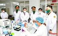 Chủ tịch Quốc hội Vương Đình Huệ thăm và làm việc tại Học viện Quân y