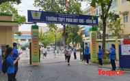 """Hà Nội: Thí sinh """"thở phào"""" sau  khi hoàn thành hai bài thi đầu tiên kỳ thi vào lớp 10 THPT năm 2021"""