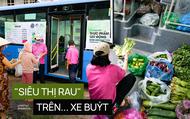Người Sài Gòn lên xe buýt để... mua rau củ, thịt cá giá bình ổn, đảm bảo an toàn đủ các bước nhưng quan trọng chất lượng liệu ra sao?