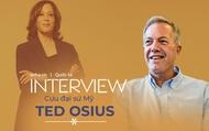 Cựu Đại sứ Mỹ Ted Osius: Thăm Việt Nam, bà Harris có thể tìm thấy nguồn cảm hứng từ Bà Trưng, Bà Triệu
