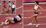 Xúc động khoảnh khắc nữ VĐV nén đau hoàn tất phần thi tại Olympic