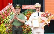 Công bố quyết định bổ nhiệm Phó Giám đốc Công an tỉnh Quảng Bình và Đắk Lắk
