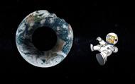 Sẽ ra sao khi Trái Đất có hình dạng của một chiếc bánh donut?