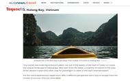 Vịnh Hạ Long lọt top những điểm đến giúp du khách ''cai'' mạng xã hội