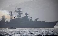 """Ồ ạt tàu chiến Nga ngoài Syria: Moscow """"ngược dòng"""" cảnh báo tới phương Tây?"""