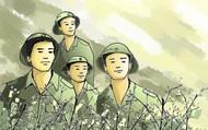 Hình ảnh người lính trong thi ca