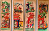 """Cuốn sách độc đáo về """"Tranh dân gian Việt Nam"""" của nhà nghiên cứu Maurice Durand"""