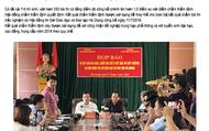 [Infographic] Hà Giang: Sáu ngày vật lộn với điểm thi THPT Quốc gia 2018