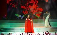 Lần đầu tiên ba NSND cùng biểu diễn một tiết mục trên sân khấu Vang mãi giai điệu Tổ Quốc