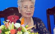 Nữ nhà văn đầu tiên là Đại biểu Quốc hội