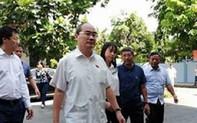 Lần thứ 2, Bí thư Nguyễn Thiện Nhân thăm người dân Thủ Thiêm