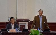 Thường trực Ban Bí thư làm việc với Ban cán sự Đảng Bộ Tư pháp