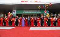 Phó Thủ tướng Vũ Đức Đam dự lễ khánh thành cơ sở 2 Bệnh viện Bạch Mai, Việt Đức