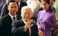 Lãnh đạo nhiều nước gửi điện mừng Tổng Bí thư Nguyễn Phú Trọng được bầu làm Chủ tịch nước