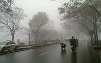 Gió mùa đông bắc gây mưa dông, vùng núi có lũ quét