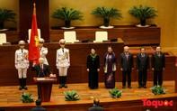 """Tân Chủ tịch nước Nguyễn Phú Trọng phát biểu nhậm chức: """"Tôi vừa mừng, vừa lo"""""""