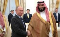 """Ngược dòng bão, """"mượn"""" nghệ thuật, Nga thắt chặt quan hệ với Arab Saudi?"""