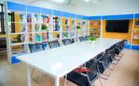 Tham quan phòng học tiếng Anh đa năng đầu tiên của Thái Nguyên