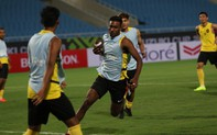 Đội tuyển Malaysia làm điều khác lạ ngay trên sân vận động Mỹ Đình