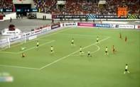 """Clip bàn thắng nâng tỷ số lên 2-0 ở phút 60 cho đội tuyển Việt Nam: Dấu ấn của """"song"""" Đức"""