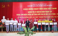 """Trung tâm Huấn luyện thể thao quốc gia Hà Nội đã phát động chương trình """"Thi đua, tăng cường rèn luyện, phấn đấu lập thành tích, hoàn thành các nhiệm vụ trọng điểm"""""""