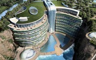 Trung Quốc khai trương khách sạn 17 tầng trong lòng đất