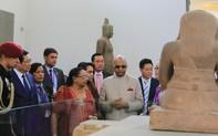 Hình ảnh Tổng thống Ấn Độ thăm Bảo tàng Điêu khắc Chăm Đà Nẵng