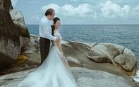 Ảnh cưới đầy mộng mơ khiến nhiều người ngưỡng mộ của ca sĩ Đinh Hiền Anh và chồng hơn 17 tuổi