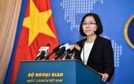 Việt Nam phản ứng về hợp tác dầu khí  Philippines - Trung Quốc tại Biển Đông