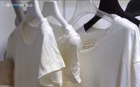 Clip: Độc đáo với quần áo làm từ sữa hết hạn