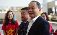 """Chủ tịch VFF Lê Khánh Hải: """"Tôi tin ở lượt về HLV Park sẽ hóa giải được đối thủ"""""""
