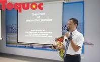 """Việt Nam – Nhật Bản trao đổi kiến thức về """"Nội soi mật, tụy ngược dòng ERCP"""""""