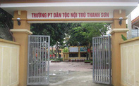 """Hiệu trưởng Trường PT dân tộc nội trú Thanh Sơn bị """"tố"""" lạm dụng tình dục hàng loạt nam sinh"""