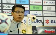 """HLV Malaysia Tan Chang Hoe: """"Chúng tôi không thấy áp lực lắm dù phải thi đấu trên sân khách"""""""